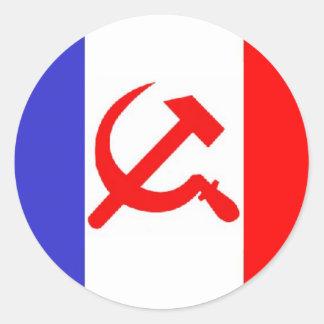 Drapeau fran ais autocollants stickers for Autocollant mural francais