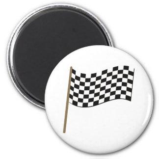Drapeau course de voiture drapeau car racing magnets