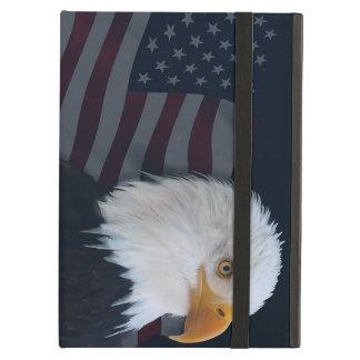 Drapeau d'aigle chauve des Etats-Unis Coque iPad Air