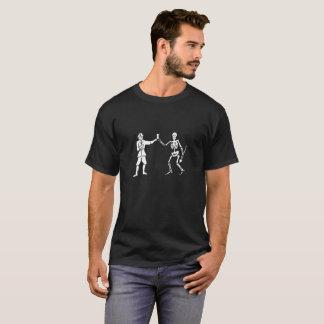 Drapeau de Bart Roberts et chemise noirs de devise T-shirt
