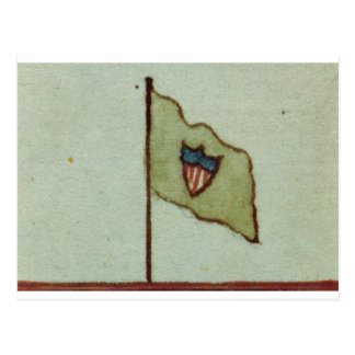 Drapeau de brigade de Maxwells de William Carte Postale