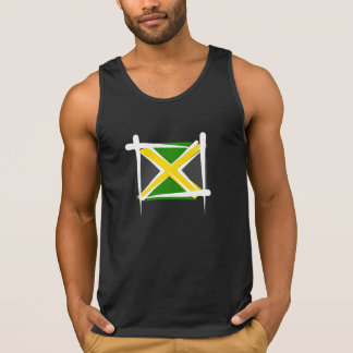 Drapeau de brosse de la Jamaïque