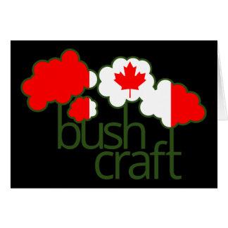 Drapeau de Bushcraft Canada Carte