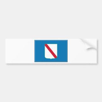 Drapeau de Campanie (Italie) Autocollant Pour Voiture