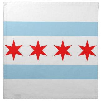 Drapeau de Chicago, serviette de MoJo d'Américain