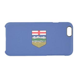 Drapeau de coque iphone clair d'Alberta