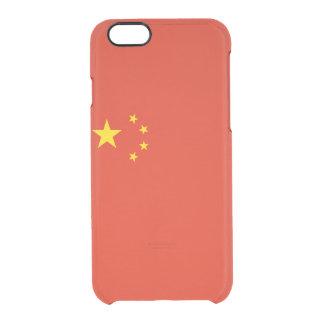 Drapeau de coque iphone clair de la Chine
