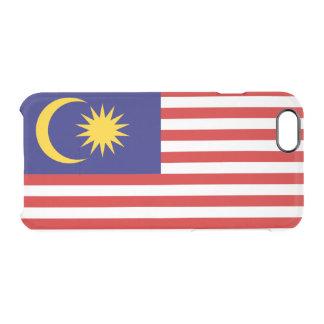 Drapeau de coque iphone clair de la Malaisie