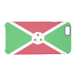 Drapeau de coque iphone clair du Burundi