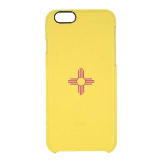 Drapeau de coque iphone clair du Nouveau Mexique