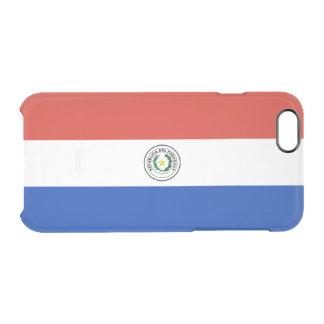 Drapeau de coque iphone clair du Paraguay