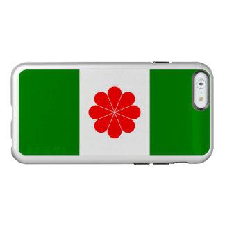 Drapeau de coque iphone d'argent de l'indépendance