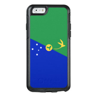 Drapeau de coque iphone d'OtterBox d'Île Christmas