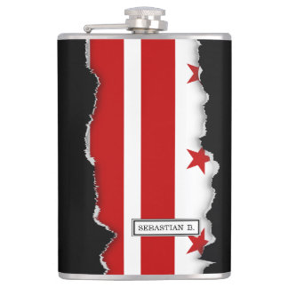 Drapeau de DC de Washington Flasques