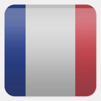 Drapeau de de la France Autocollant