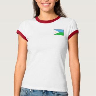 Drapeau de Djibouti + T-shirt de carte