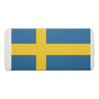 Drapeau de gomme de la Suède