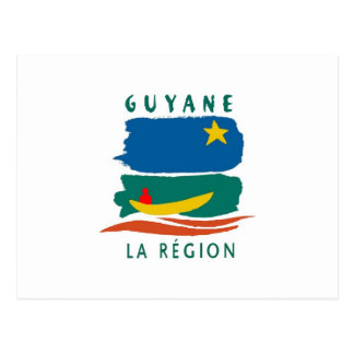 Drapeau de Guyane Carte Postale