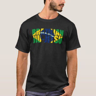 Drapeau de Jiu Jitsu de Brésilien T-shirt