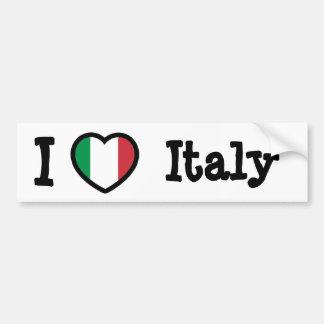 Drapeau de l Italie Autocollant Pour Voiture