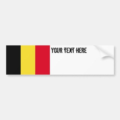 Drapeau de la Belgique Adhésifs Pour Voiture