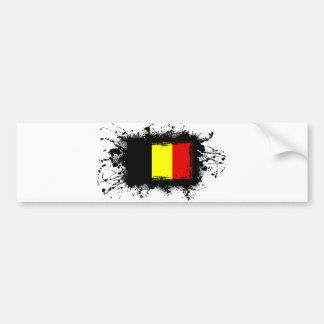 Drapeau de la Belgique Autocollant Pour Voiture