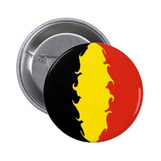 Drapeau de la Belgique Badge Rond 5 Cm