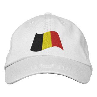Drapeau de la Belgique Casquette Brodée