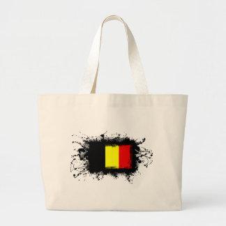 Drapeau de la Belgique Grand Tote Bag