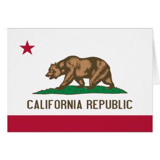 Drapeau de la Californie Carte