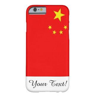 Drapeau de la Chine Coque Barely There iPhone 6