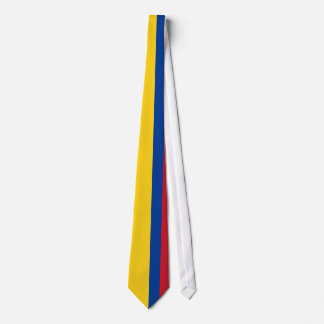 Drapeau de la Colombie Cravate
