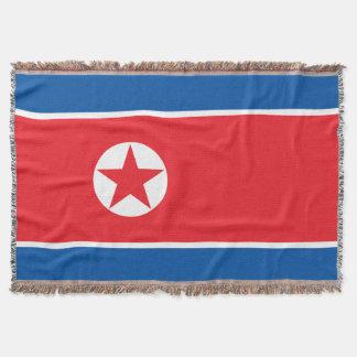 Drapeau de la Corée du Nord Couvertures