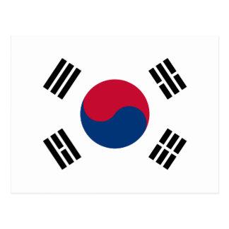 Drapeau de la Corée du Sud - 태극기 - 대한민국의국기 Cartes Postales