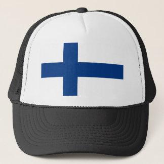 Drapeau de la Finlande (lippu de Suomen, flagga de Casquette