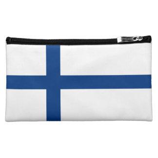 Drapeau de la Finlande Moyenne Trousse De Maquillage