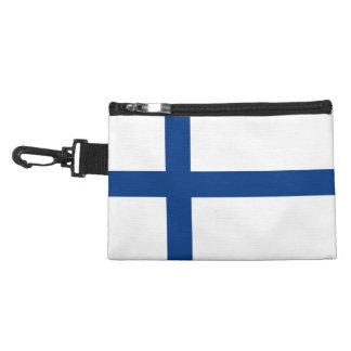 Drapeau de la Finlande Pochette Avec Clip