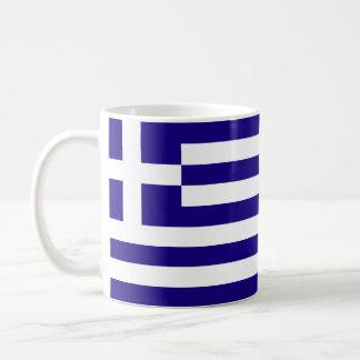 Drapeau de la Grèce Mug