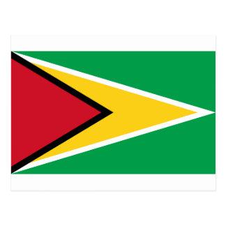 Drapeau de la Guyane Carte Postale