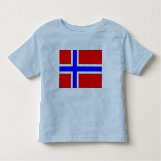Drapeau de la Norvège T-shirt Pour Les Tous Petits