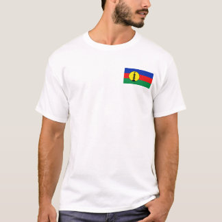 Drapeau de la Nouvelle-Calédonie et T-shirt de