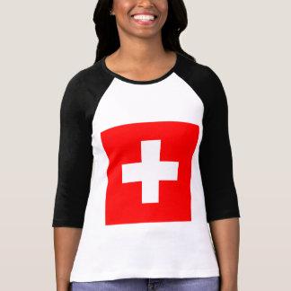 Drapeau de la Suisse T-shirt