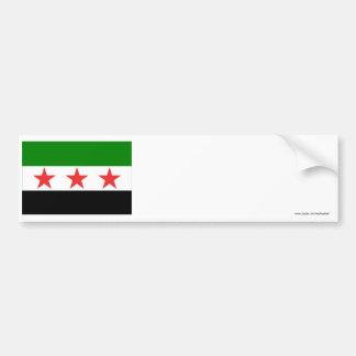 Drapeau de la Syrie (1932-1958 et 1961-1963) Autocollant De Voiture