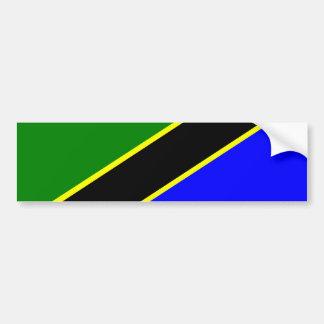 Drapeau de la Tanzanie Autocollant De Voiture