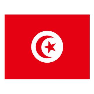 Drapeau de la Tunisie Carte Postale