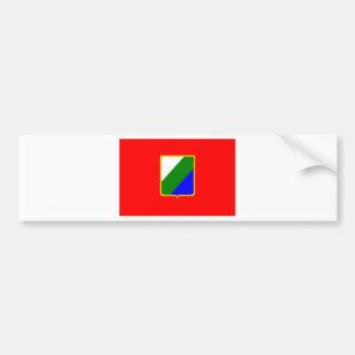 Drapeau de l'Abruzzo (Italie) Autocollant De Voiture