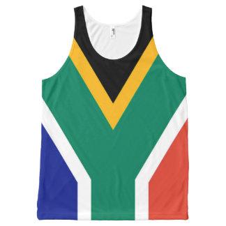 Drapeau de l'Afrique du Sud Bokke Débardeur Tout-imprimé