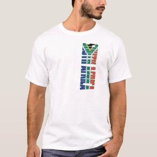 Drapeau de l'Afrique du Sud T-shirt