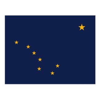 Drapeau de l'Alaska Carte Postale