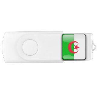 Drapeau de l'Algérie Clé USB 2.0 Swivel